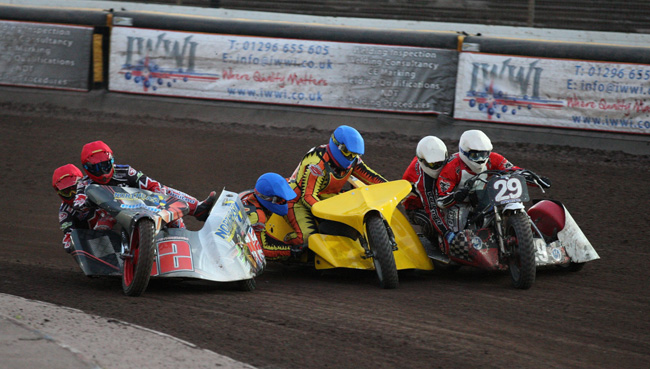 Somerset Rebels Speedway Official Website: SIDECARS TAKE CENTRE